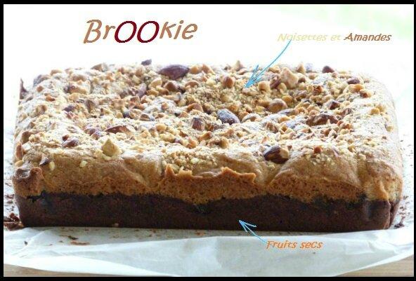 """ღ """" Miam """" BrOOkie fruits secs - Noisettes & Amandes"""
