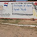 10 bis Entrée d'un quartier du Banado Norte à côté du 'restaurant'