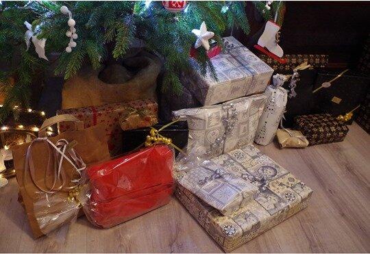 cadeaux sous sapin