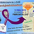 12 mai 2013 - journée internationale de la fibromyalgie