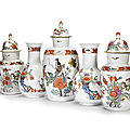Outstanding five-vase meissen garniture for sale at bonhams