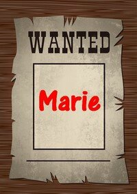 wanted-Marie