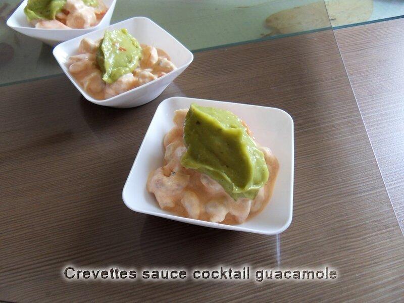 crevettes sauce cocktail guacamole recettes voyageuses. Black Bedroom Furniture Sets. Home Design Ideas