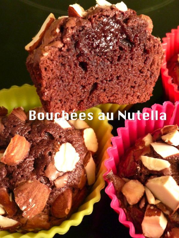 bouchees nutella