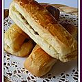 Brioches suisses ou lingots  la crme ptissire et raisins secs