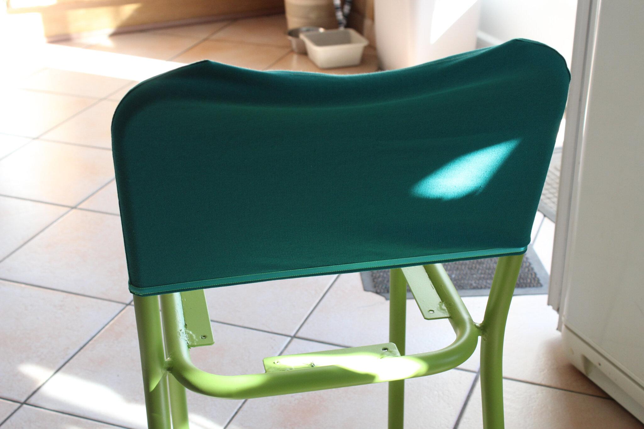 Confectionner une housse de chaise 28 images housse de for Housse pour chaise