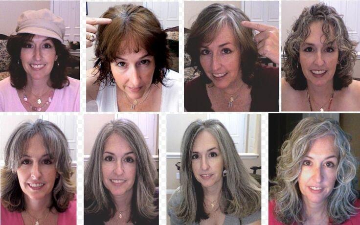Quel balayage pour cheveux gris