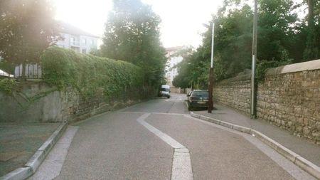 rue de la Brosse vue descendante