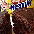 Gâteau moelleux au chocolat nesquik !