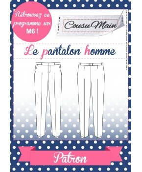 Made in Me Couture - Pantalon Homme Cousu Main