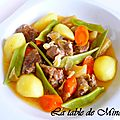 Ragout d'agneau aux lgumes