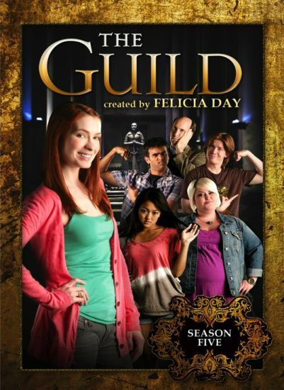 The Guild Season 5 DVD cover art