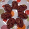 Les madeleines au chocolat de marjane