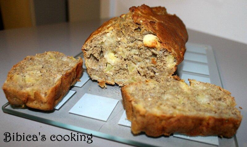cake santé aux fibres {flocons d'avoine et farine de lentilles
