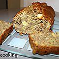 Cake santé aux fibres {flocons d'avoine et farine de lentilles vertes} et aux amandes