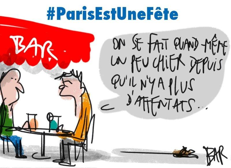 #ParisEstUneFête