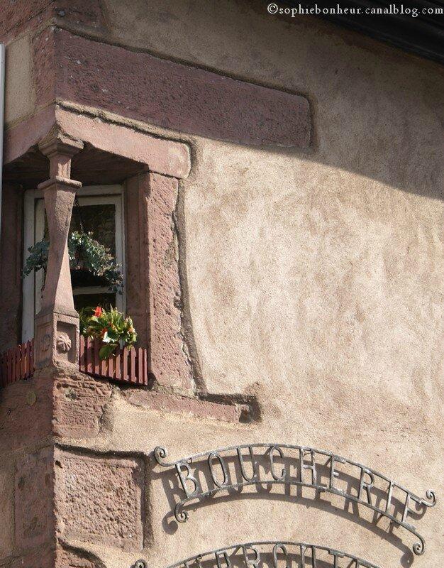 Ribeauvillé fenêtre angle