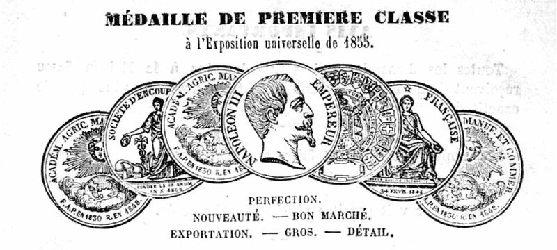 Sajou catalogue 1856