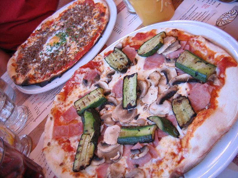 Pizzas, Tablapizza, août 09.