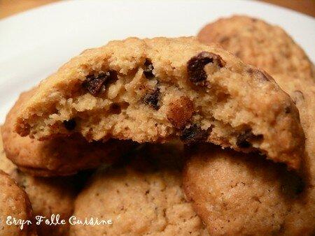 cookies parfum caramel aux p pites chocolat es eryn et sa folle cuisine. Black Bedroom Furniture Sets. Home Design Ideas