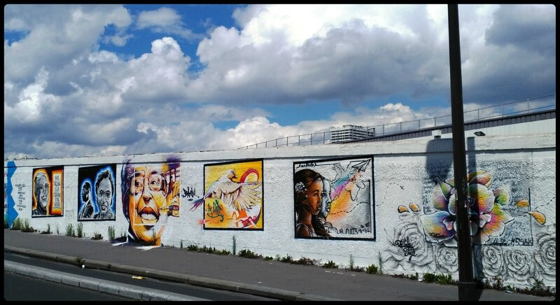 fresque murale,