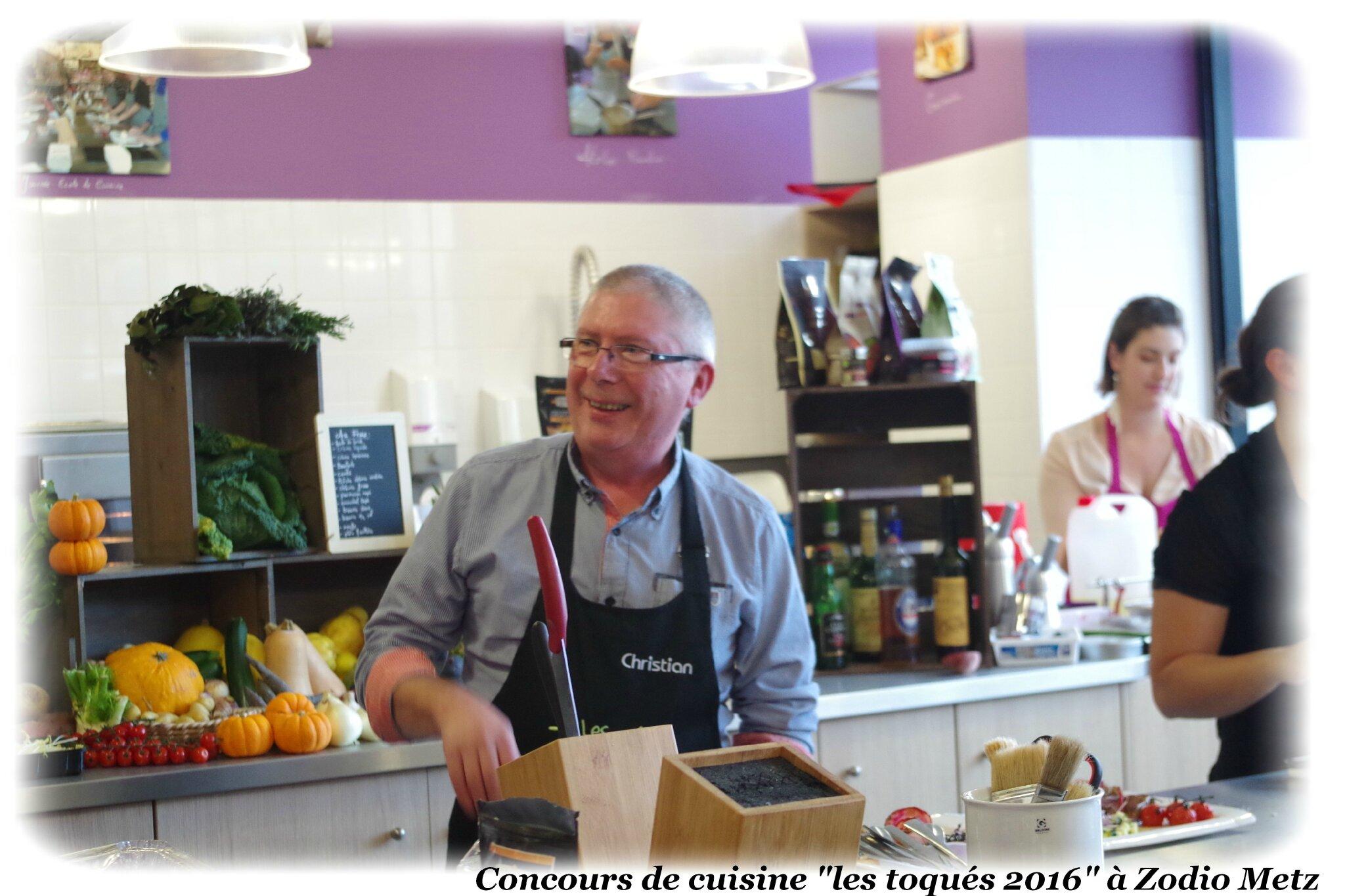 """PAPOUNE PARTICIPE AU CONCOURS DE CUISINE """"LES TOQUES 2016"""" ZODIO METZ"""