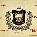 Groupe de forteresse : 4e bataillon du 149e R.I. année 1912