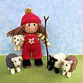 Bo peep and her sheep - dollytime