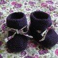 ....encore des chaussons !