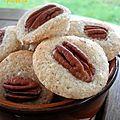 Bouchées amandine aux noix de pécan
