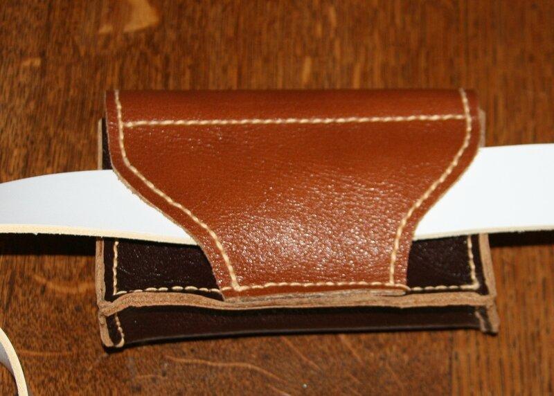 Pochette de ceinture dos