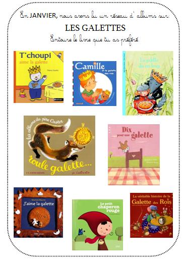 Choix de l 39 album pr f r la maternelle de vivi - Tchoupi galette ...