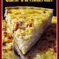 Quiche  la choucroute