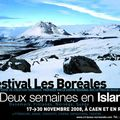 Deux semaines en Islande : Le festival Les Borales  Caen du 17 au 30 novembre 2008
