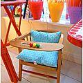 adorable petite chaise avec boulier