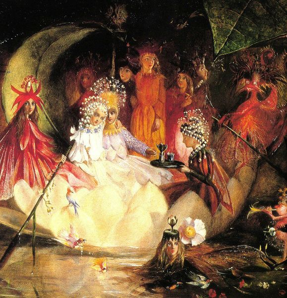 The Marriage of Oberon and Titania - John Anster Fitzgerald - 1819-1906