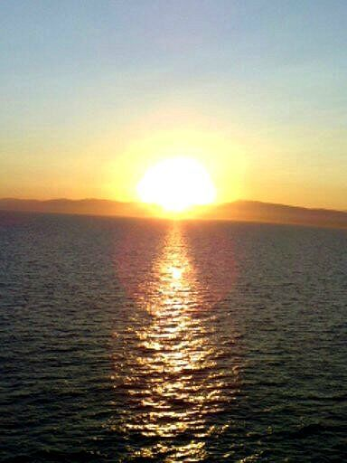 coucher du soleil sur un costa 2