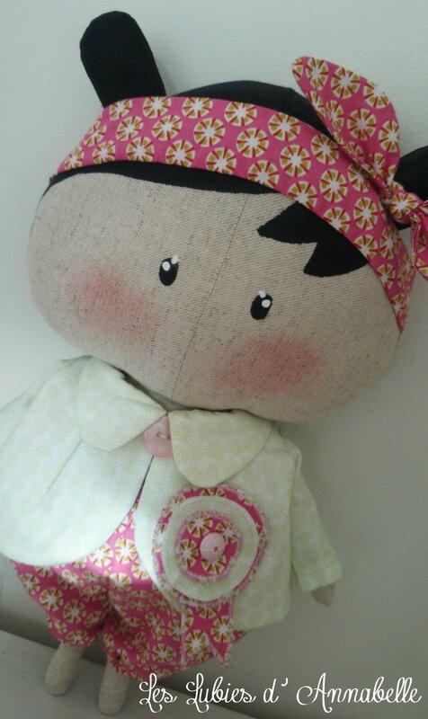 poupée Tilda Sweetheart fille