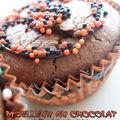 Moelleux au chocolat d'halloween