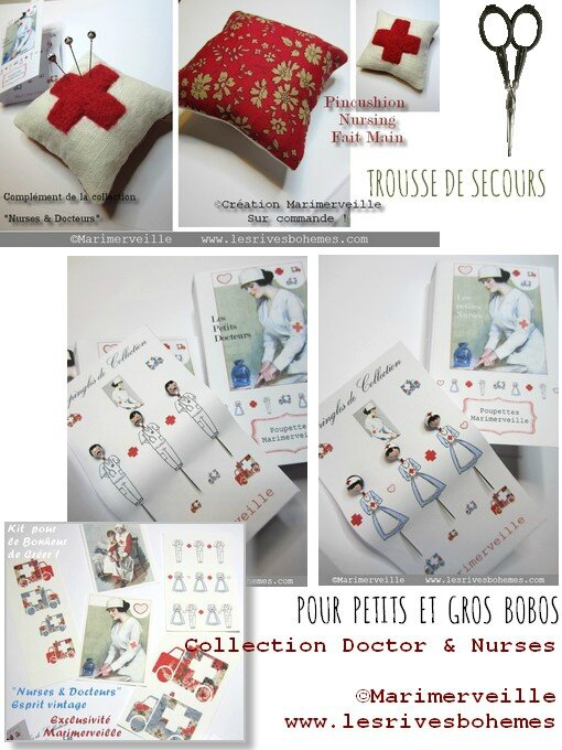 Marimerveille Collection Doctor & Nurses