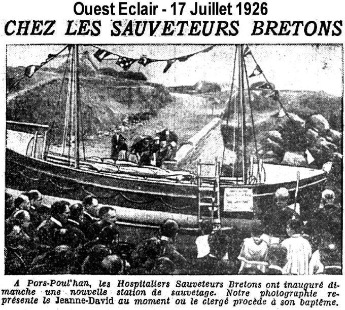 1926-07-17 Inauguration pors-poulhan