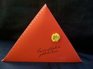 boîte cadeau triangle gd modèle 2