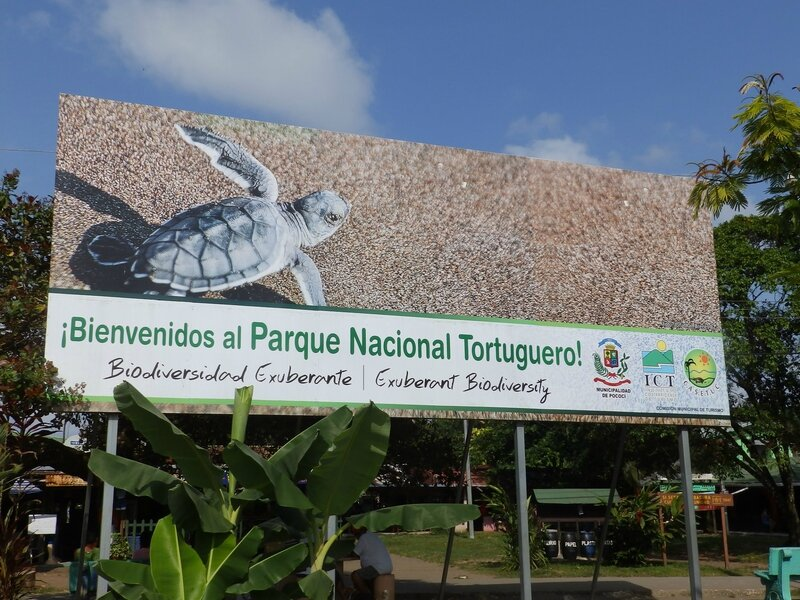 1-entree parc Tortugero