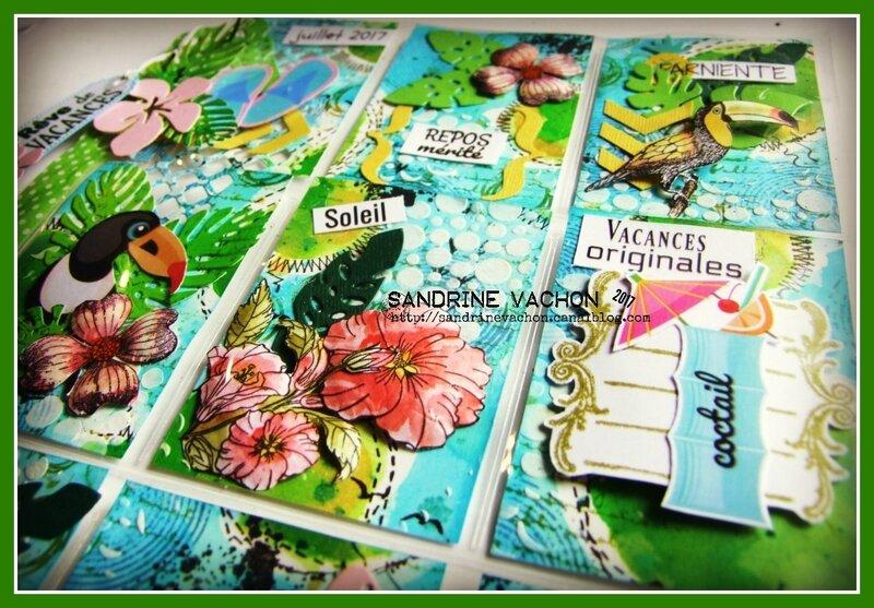 Sandrine VACHON Pocket letter REVE DE VACANCES (4)