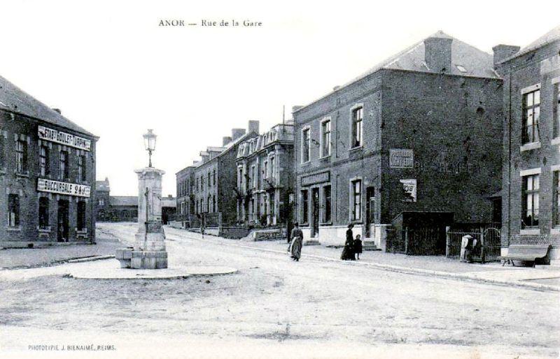 ANOR-La rue de la Gare