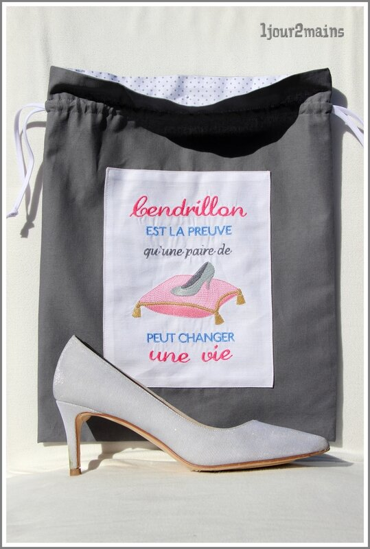 sac chaussures avec chaussure