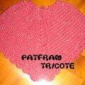 Poncho au Crochet