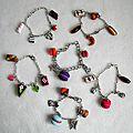 bracelets - 7 € pièce