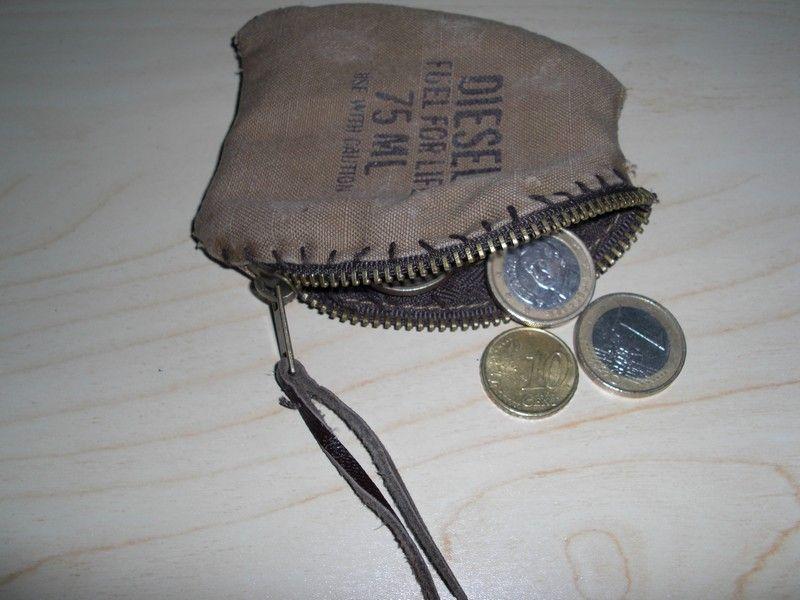 Porte monnaie diesel b a ba cr ations - Porte monnaie homme diesel ...