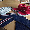 Les chaussons tricolores